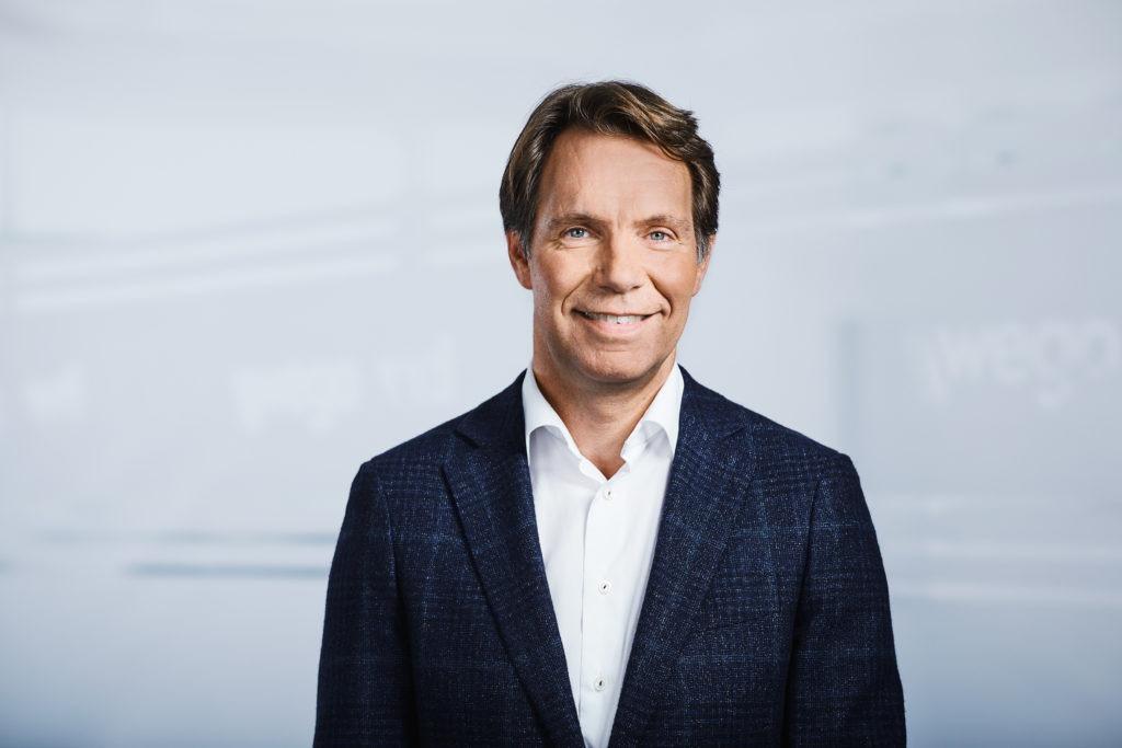 Ronald Hoozemans, Vorsitzender der Geschäftsführung bei Wego/Vti