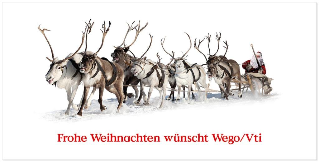 Wego Vti Weihnachtskarte